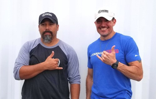 "Kris ""Tanto"" Paronto and Dave ""Boon"" Benton, ShootingClasses.com partners"